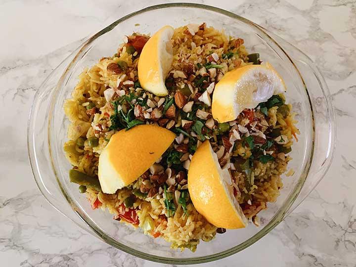 Insta-paella Recipe